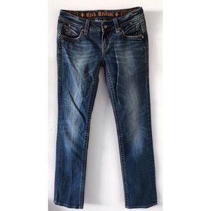 Rock Revival Jeans - Rock Revival Pat straight Jeans Sz 27